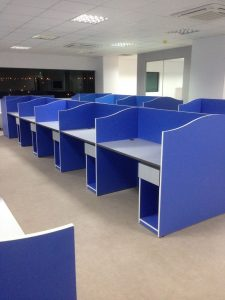 Custom Call Center Furniture - Laska Office Furniture Mauritius