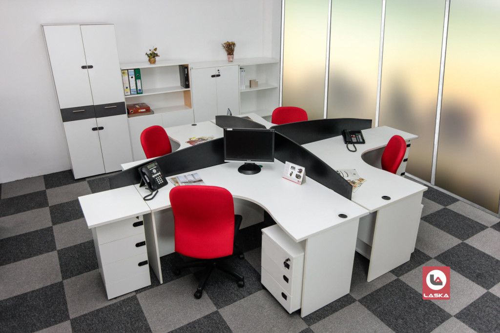 Next - Modular and Versatile - Laska Office Furniture Mauritius
